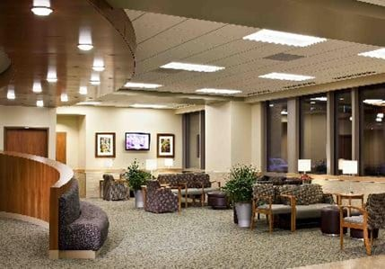 A Family And Visitor Waiting Area At Boone Hospital Center