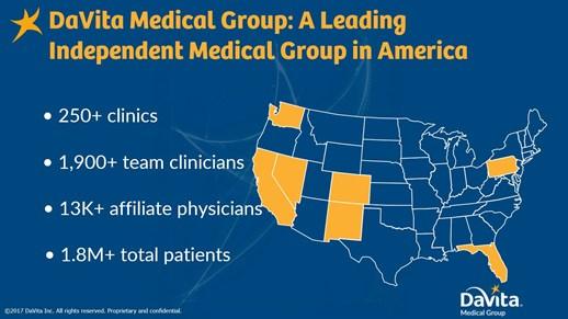 Davita Medical Group Profile at PracticeLink