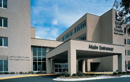 Sarah Bush Lincoln Health Center Main Entrance