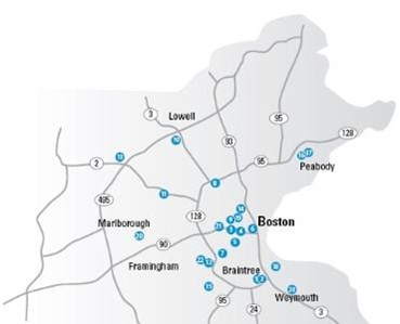 Harvard Vanguard Medical Associates - Practice locations