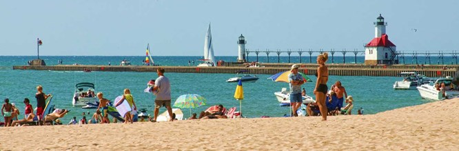 Life's a beach in Southwest Michigan!