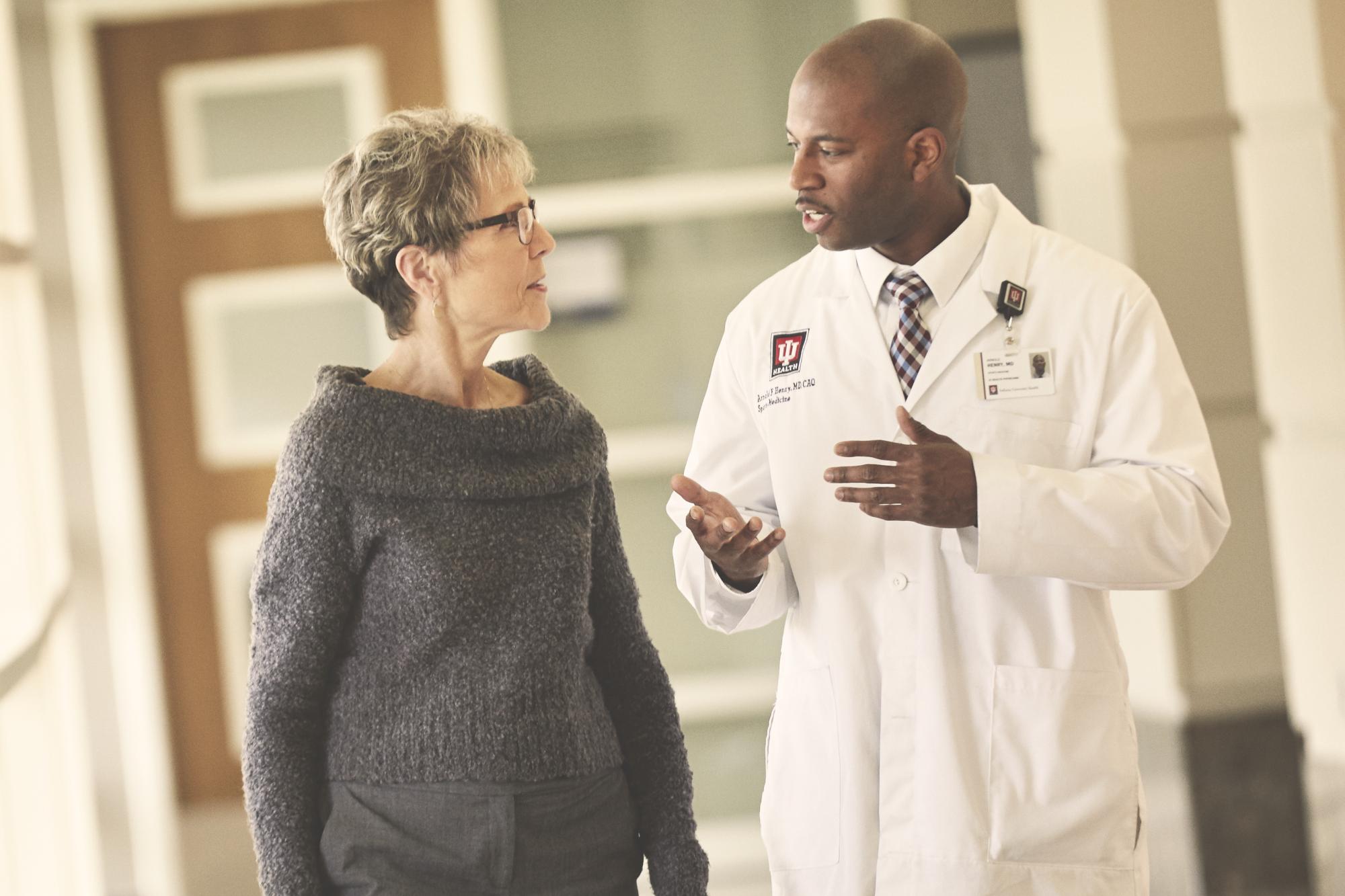 Indiana's top doctors practice at IU Health.
