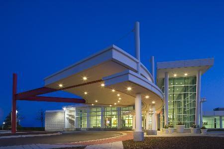 Rush-Copley Emergency Department Entrance