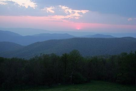 Surrounded by the Blue Ridge Mountains, beautiful vistas are everywhere.