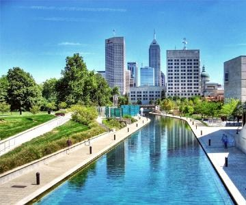 Downtown Indianapolis - Canal Walk