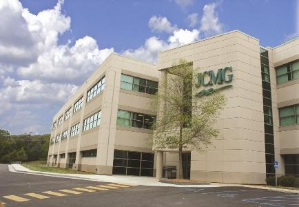 JCMG Medical Building with state-of-the-art equipment.