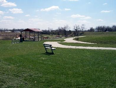 New community bike trail.