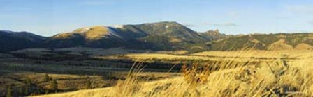 "Helena's Famous ""Sleeping Giant"" - Part of the Big Belt Mountain Range North of Helena"