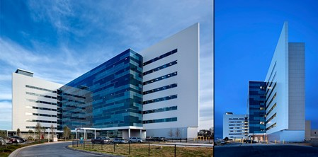 New patient tower of Midland Memorial Hospital