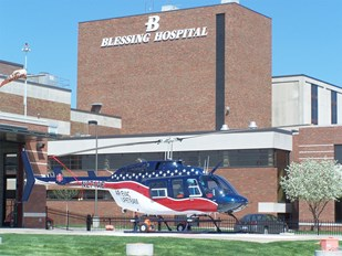 Blessing Hospital is a 357-bed, not-for-profit, indepentdent hospital.