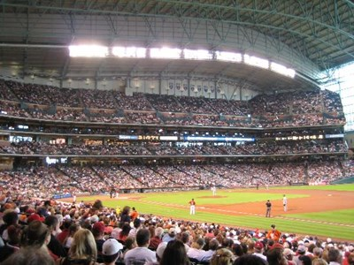 Minute Maid Park.   501 Crawford Street, Houston, TX 77002 (Downtown)