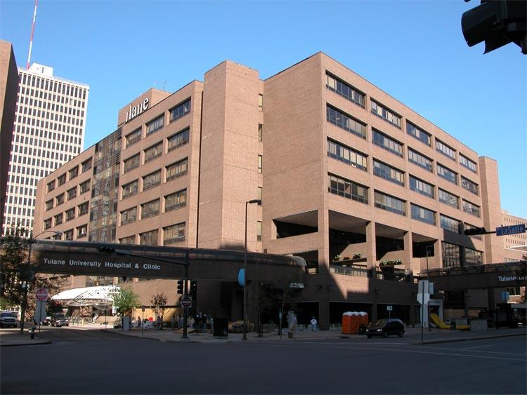 Tulane University Hospital and Clinic Image