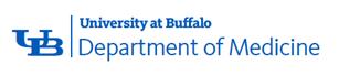 SUNY at Buffalo, Department of Medicine Logo
