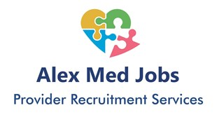 Alex Med Jobs - North from New York City Logo