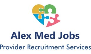 Alex Med Jobs - SD Logo
