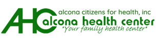 Alcona Health Center Logo