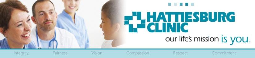 Hattiesburg Clinic Logo
