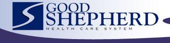 Good Shepherd Health Care System Logo