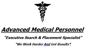 Advanced Medical Personnel-NC Logo