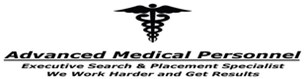 Advanced Medical Personnel-NY Logo