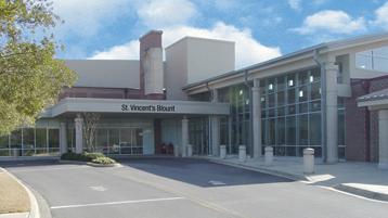St. Vincent's Blount Hospital Image