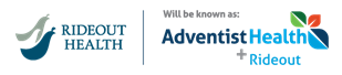 Adventist Health/Rideout Health Logo