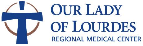 Our Lady of Lourdes Logo