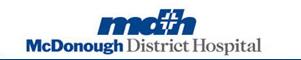 McDonough District Hospital Logo