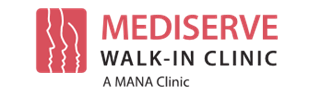 MANA MediServe Walk-In Clinic Logo
