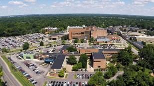 Mid-Metro Indiana - Level II Trauma Center with new Medical School and Residency program Logo