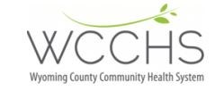 Wyoming County Community Health System Logo