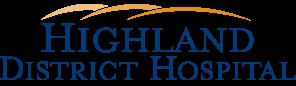 Highland District Hospital Logo