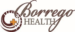Borrego Health:  Desert Hot Springs Wellness Center Logo